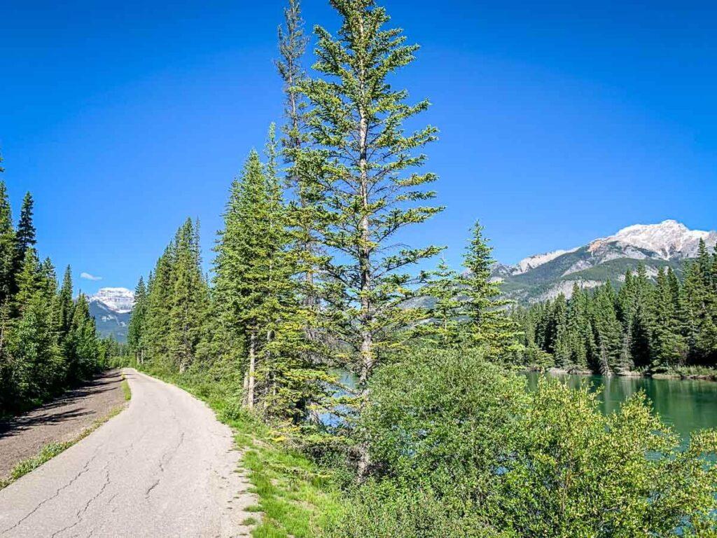 Sundance Canyon Trail in Banff