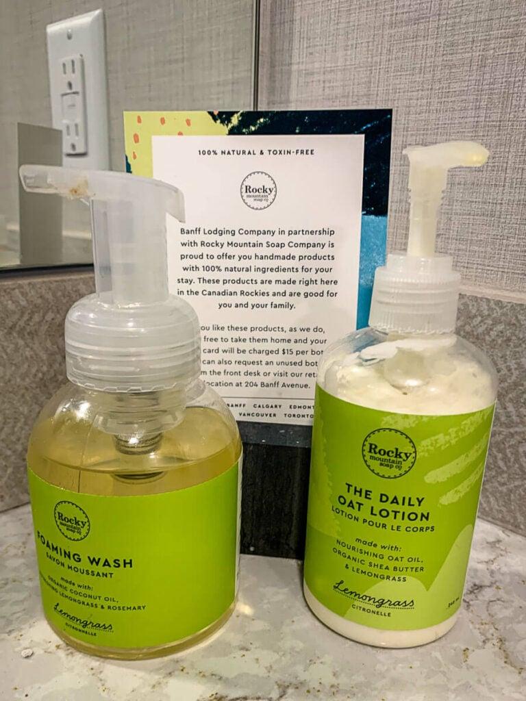 Rocky Mountain Soap at Dorothy Motel - accommodations banff