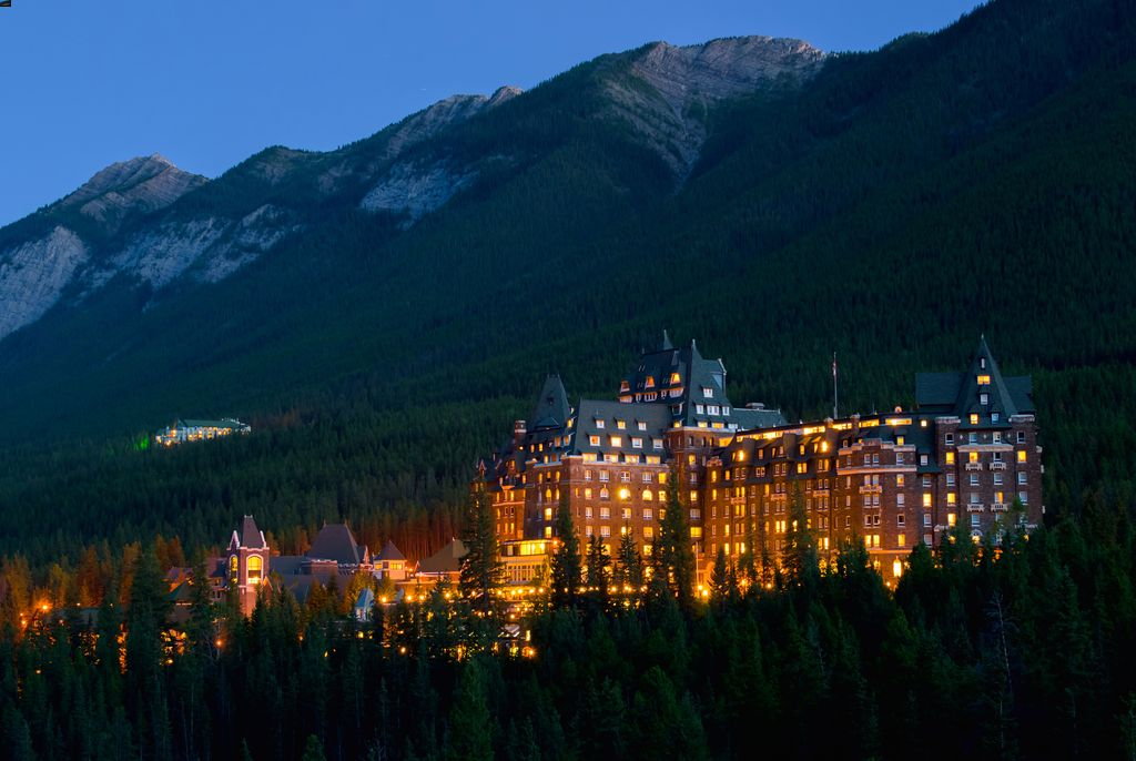 The Fairmont Banff Springs Hotel is a 5-time winner of the Best Hotel in Alberta, Canada