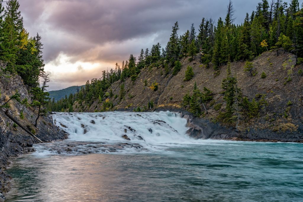 The Bow Falls are one of the top things to do near the Banff Springs Hotel