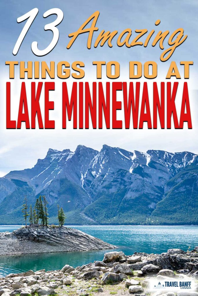 Lake Minnewanka in Banff is an outdoor enthusiasts playground. There are so many things to do at Lake Minnewanka, Banff National Park:  Lake Minnewanka boat cruise, hiking trails, mountain biking, kayaking and more!