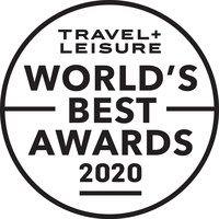 Logo for Travel + Leisure World's Best Awards - 2020
