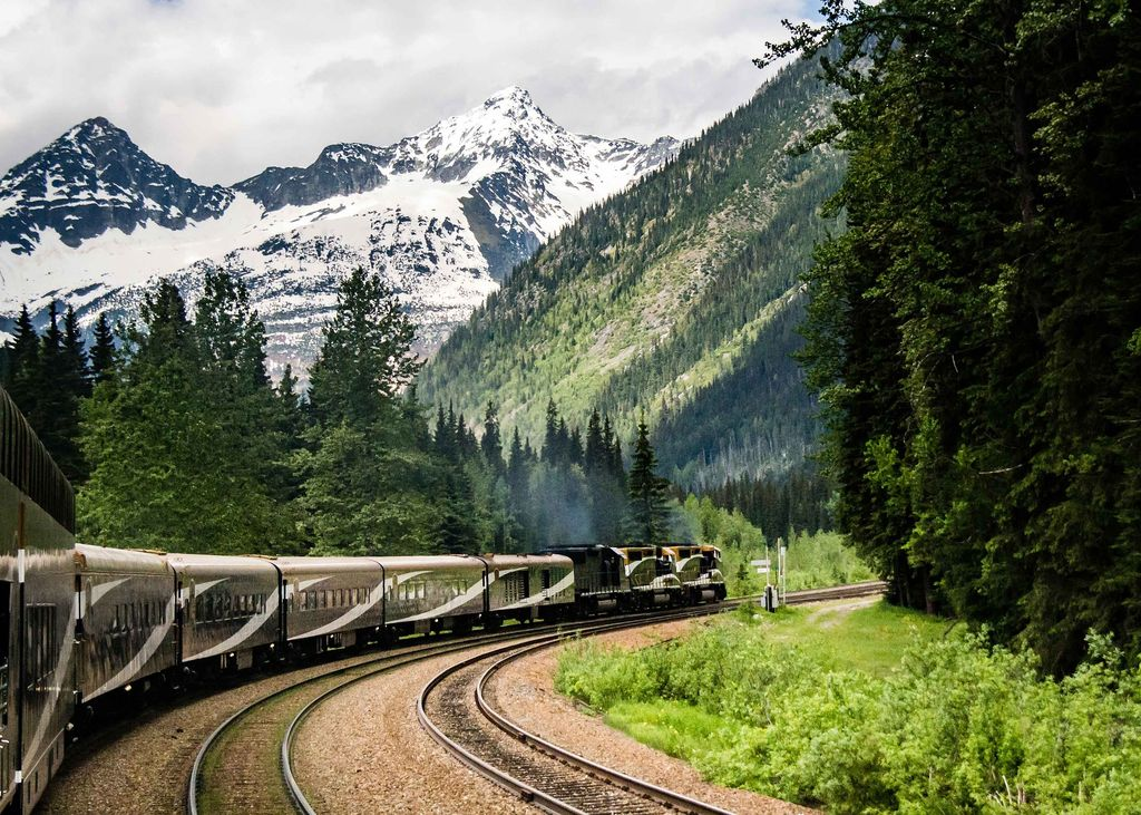 Getting to Banff from Vancouver on the luxury Rocky Mountaineer Train