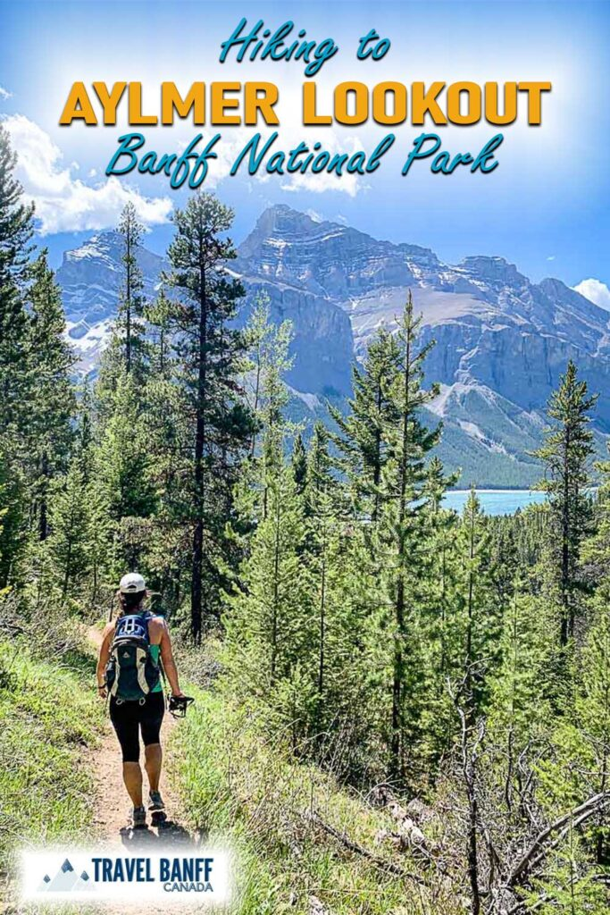 One of the best hikes in Banff - if you have the time don't miss the hike to Aylmer Lookout! The views are some of the best you'll see! Get all the details for the Aylmer Lookout trail on TravelBanffCanada.com