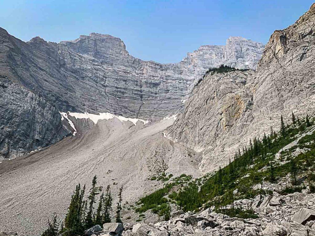 Banff hikes - C Level Cirque trail