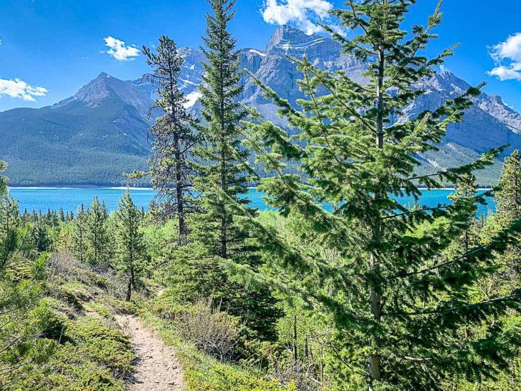 Lake Minnewanka hike - best banff hikes
