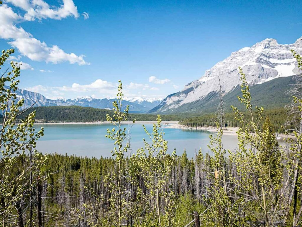 Best Banff Hikes - Lake Minnewanka Hike