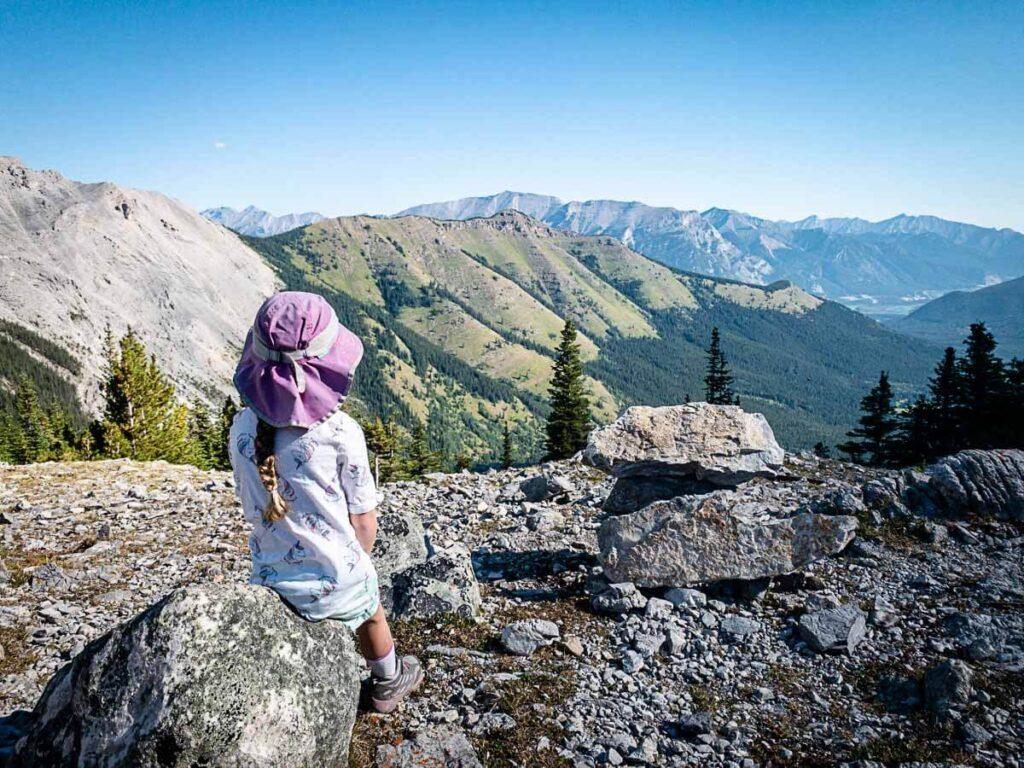 Best views on West Wind Pass trail in Kananaskis