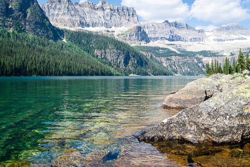 Boom Lake - Banff National Park hikes