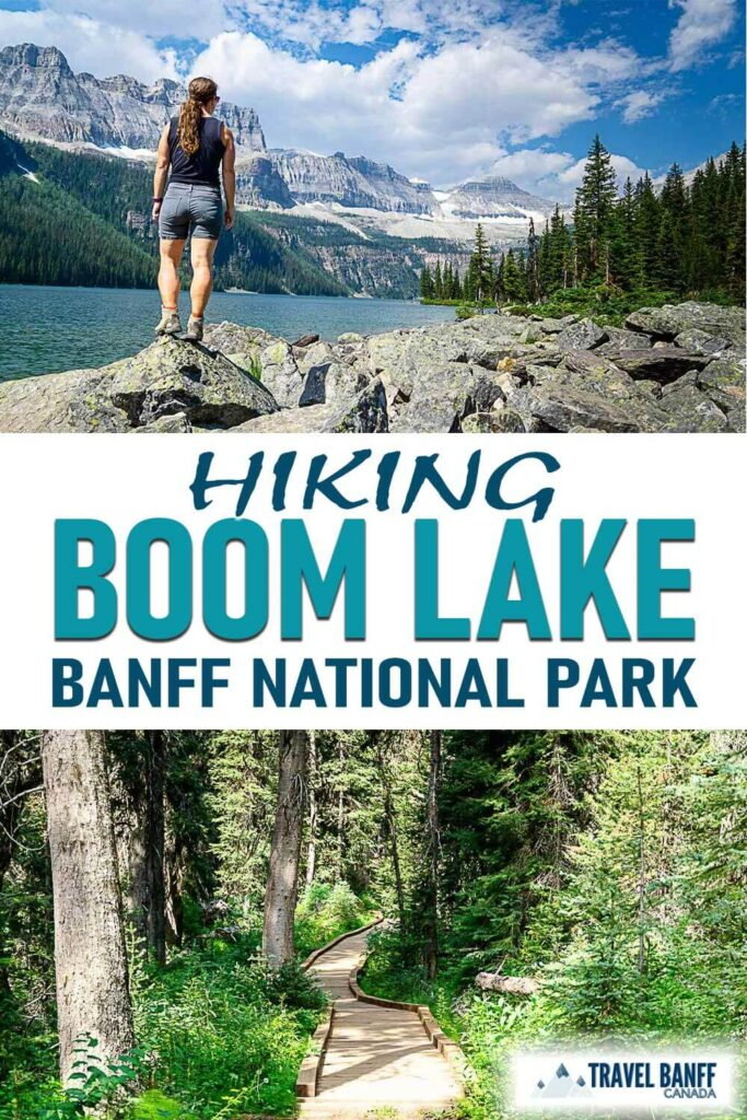 Don't miss the jaw-dropping views at Boom Lake in Banff National Park. This moderately long hike is well worth the effort!