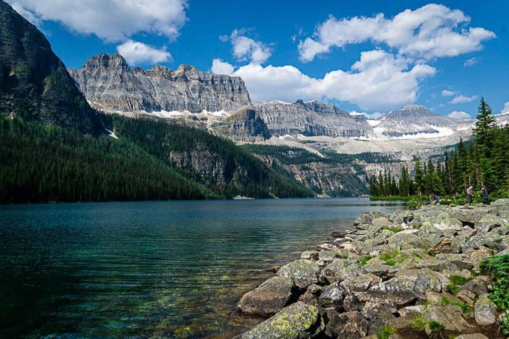 Hike to Boom Lake in Banff National Park