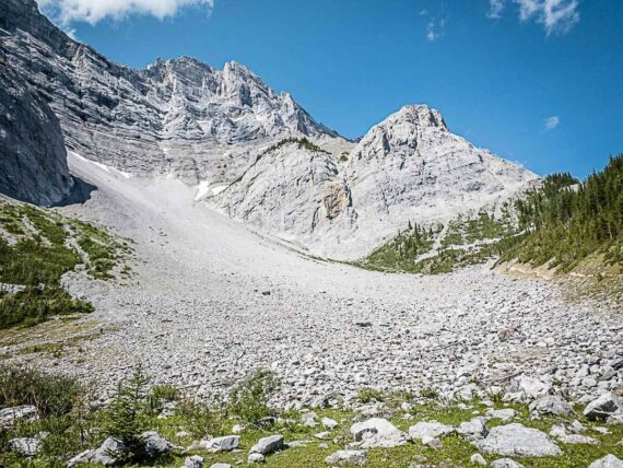 Hiking the C Level Cirque Trail in Banff National Park