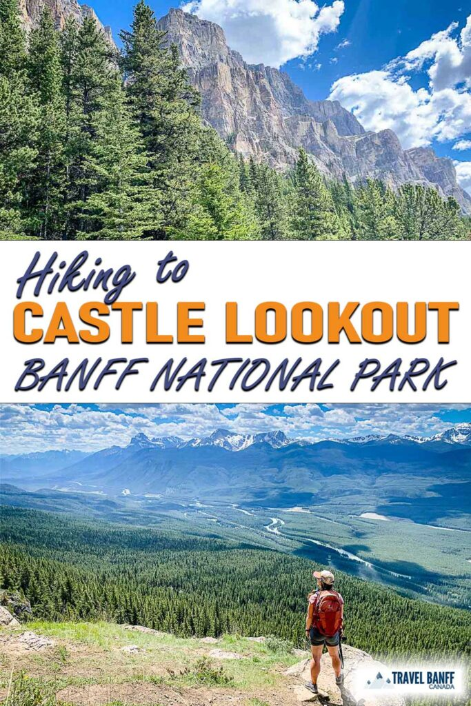 The Castle Lookout hike in Banff offers some incredible mountain scenery. With panoramic views and slopes filled with wildflowers, this is one Banff hike that should be on your list!