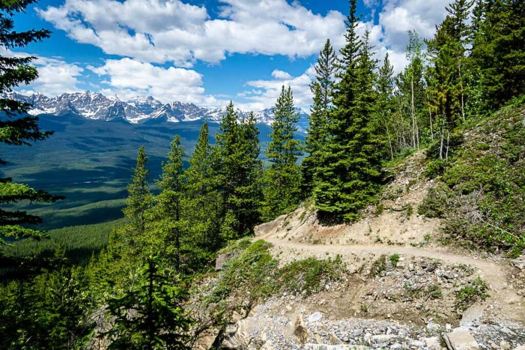 Castle Lookout hike - best Banff Hikes