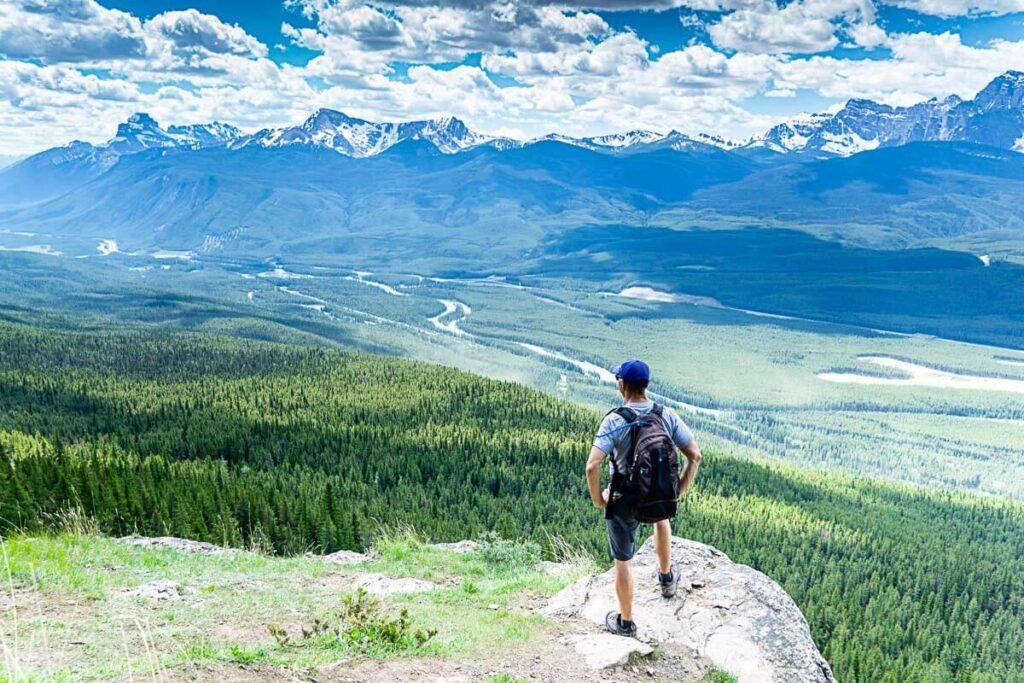 Castle Mountain Lookout - Banff National Park