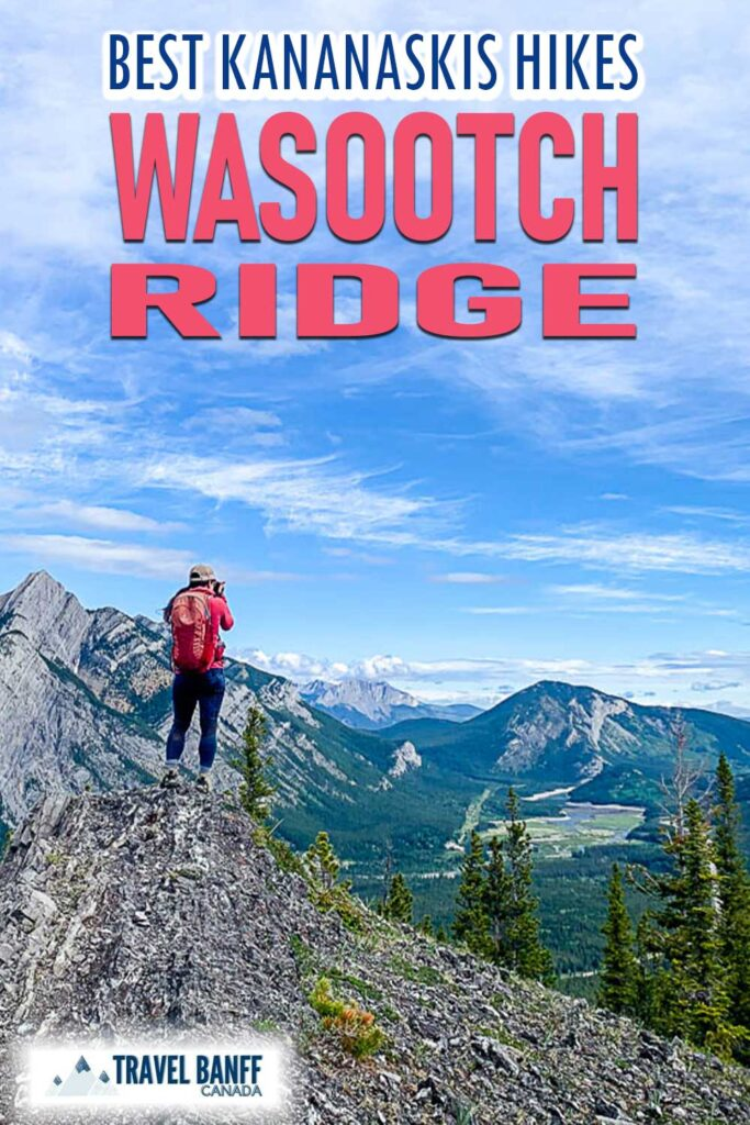 Wasootch Ridge hike in Kananaskis has some of the most panoramic views. It's a stunning hike that should be on everyone's list.