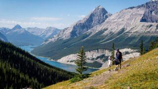 West Wind Pass hike with Kids in Kananaskis
