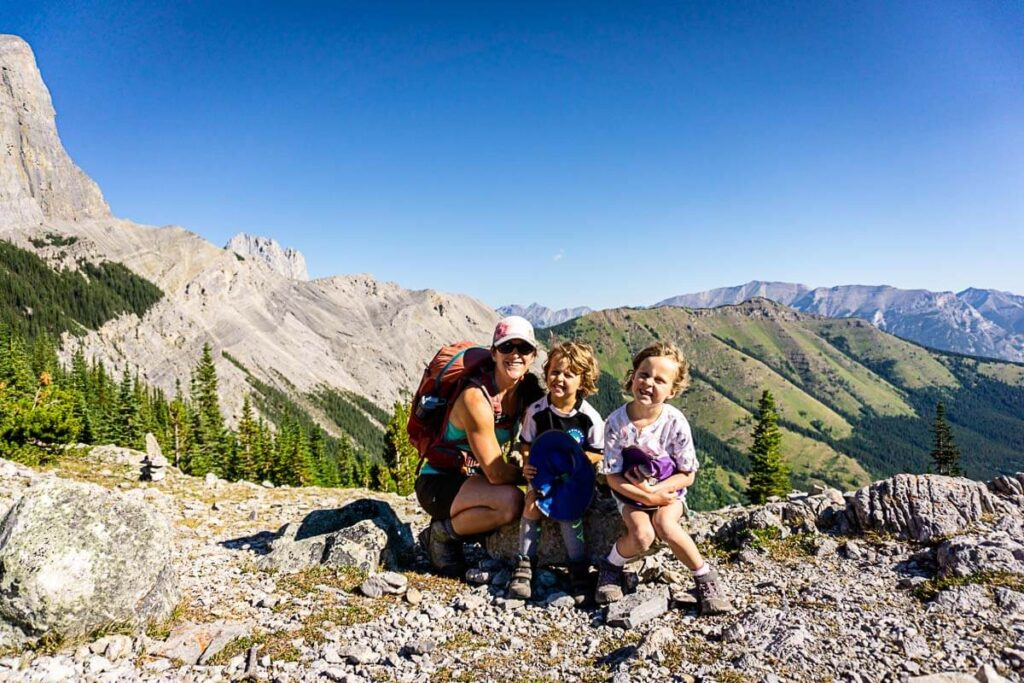 West Wind Pass - one of the best Kananaskis hikes