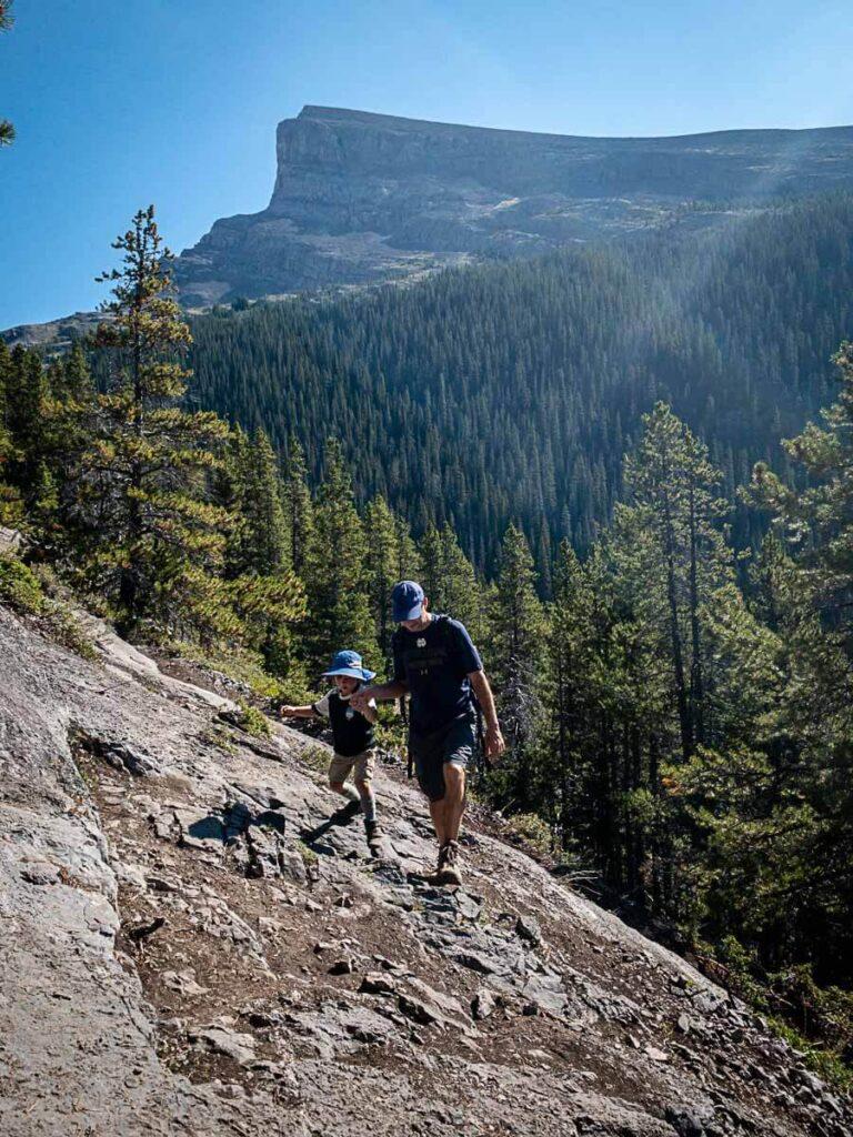 West Wind Pass - Best Kananaskis hikes with kids