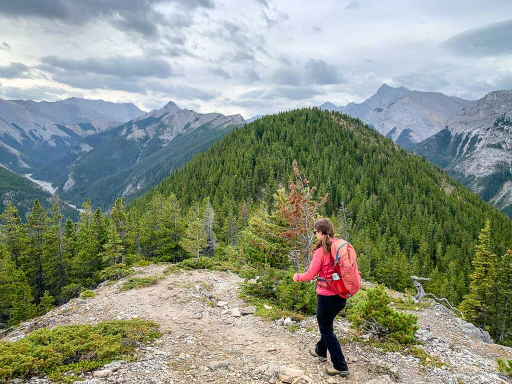 Kananaskis Hiking Trails - Wasootch Ridge