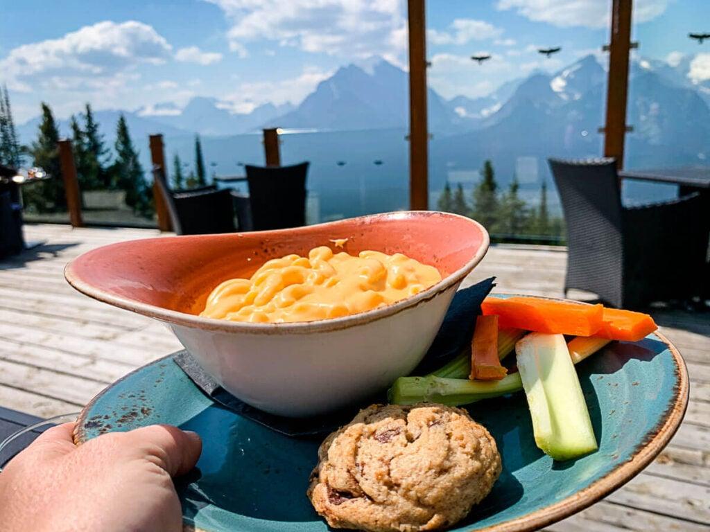 kids meal at Whitehorn Bistro - Lake Louise Gondola