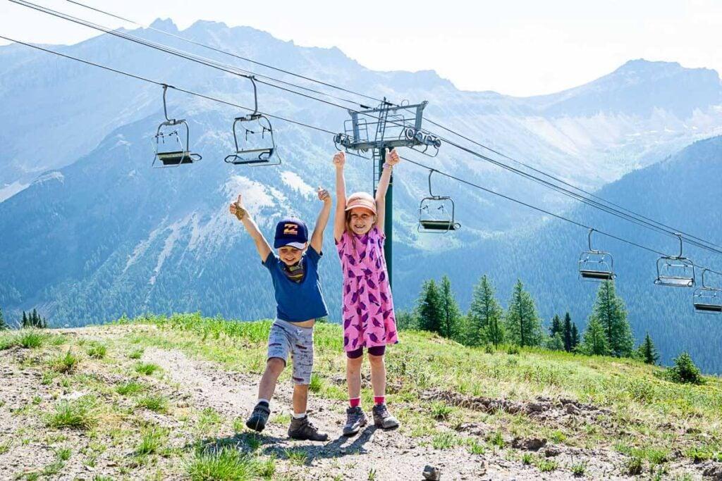 Ptarmigan Valley Viewpoint - Lake Louise Gondola hikes