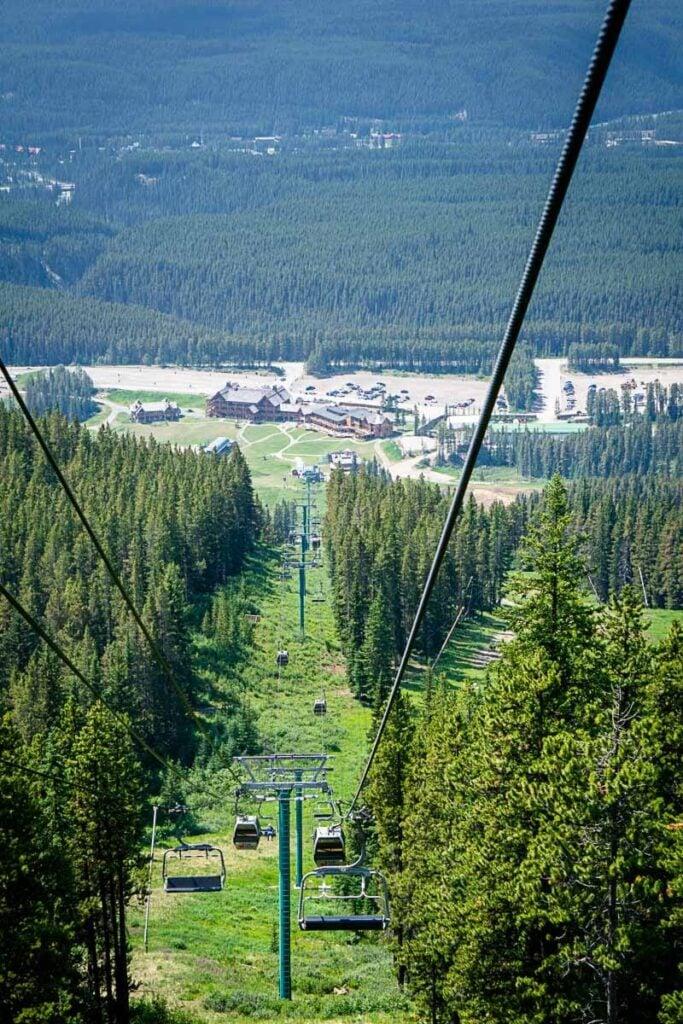 Lake Louise Gondola Location - Lake Louise Ski Resort