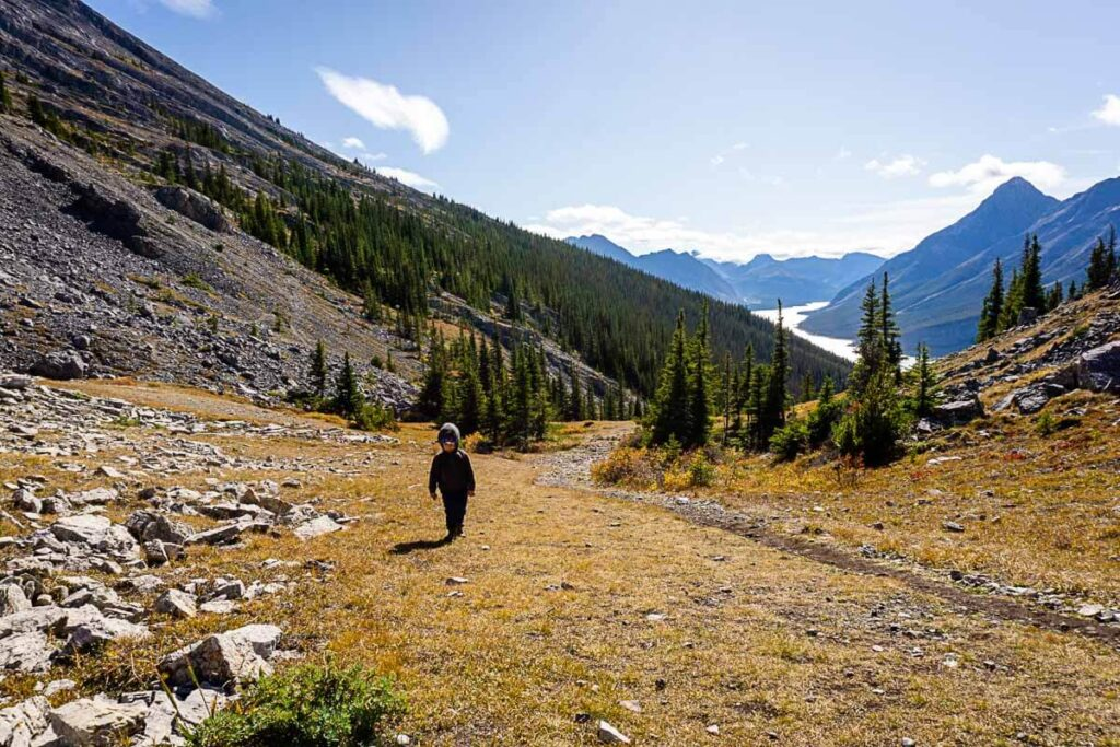 Pack Layers for West Wind Pass hike