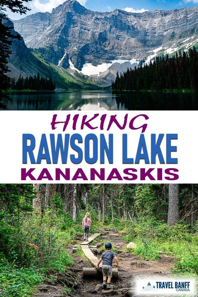 The Rawson Lake hike is one of the most popular Kananaskis hikes and for good reason! This hike takes you by two stunning Kananaskis lakes. It's a family-friendly Kananaskis hike too with a wide trail.