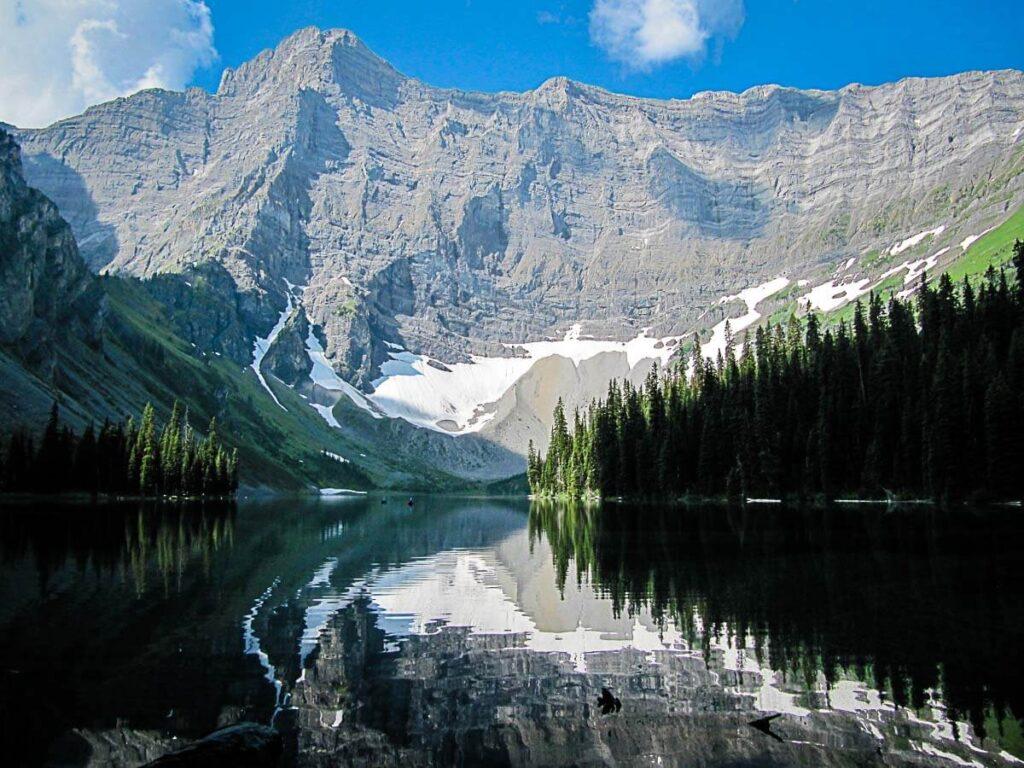 Rawson Lake to Sarrail Ridge hiking trail