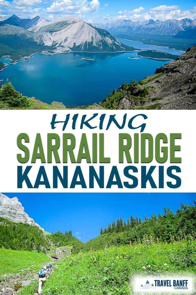 If you have the physical ability, hike past Rawson Lake up Sarrail Ridge for some of the best views in Kananaskis. The Sarrail Ridge hike isn't for the faint of hear but you'll love the jaw-dropping views!