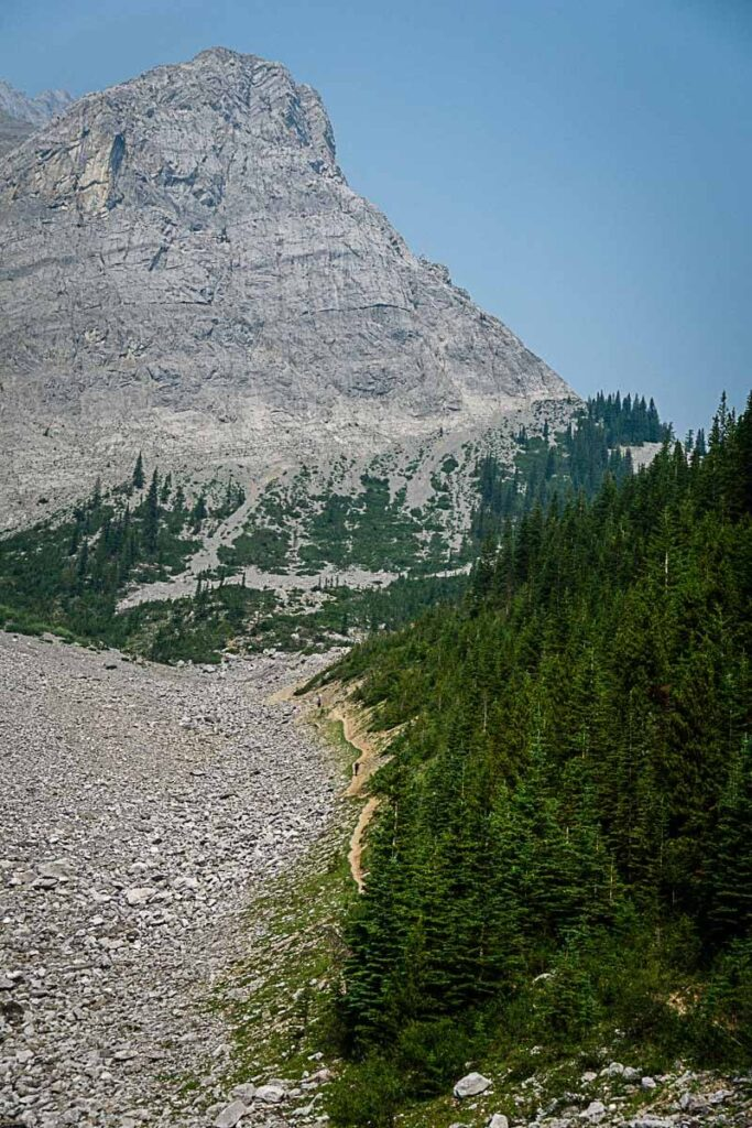 Upper section of c level cirque trail Banff