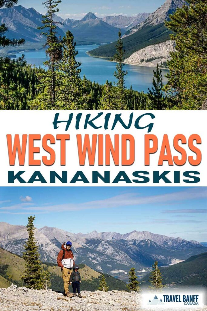 The West Wind Pass hike in Kananaskis offers some incredible views on such a short hike! Sure it's steep at times, but it's well worth the effort for this short Kananaskis hike.