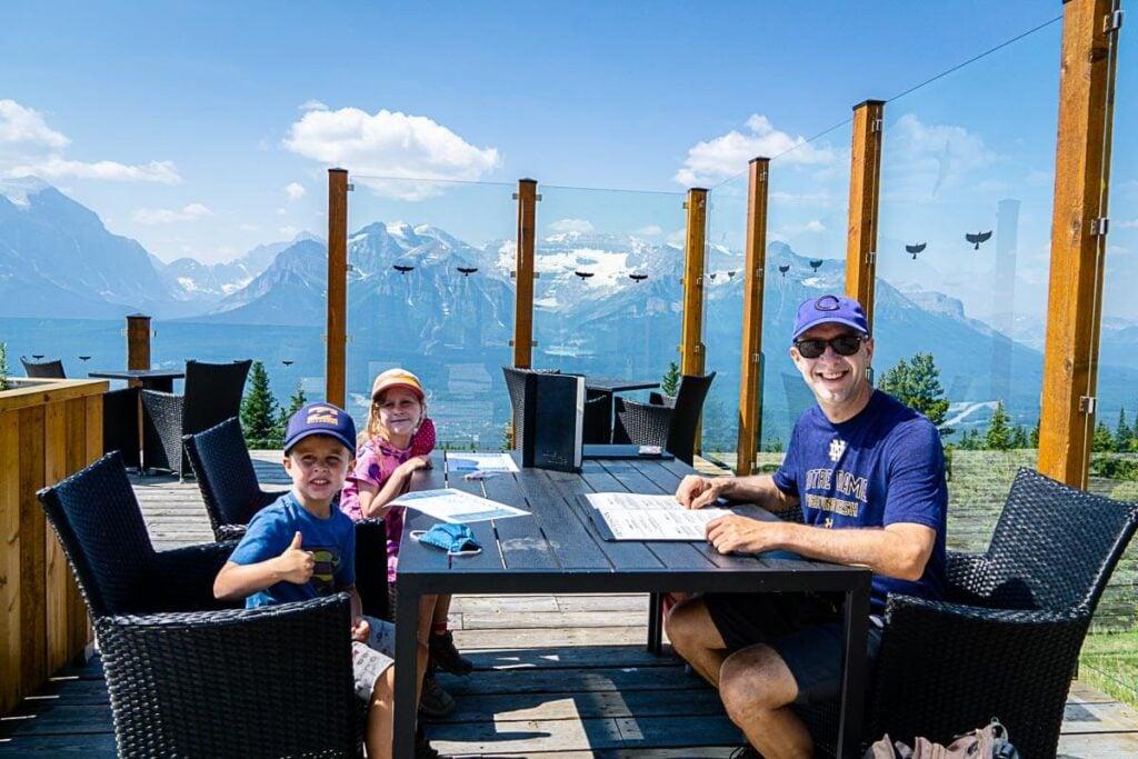 Whitehorn Bistro Patio - Lake Louise Ski Resort