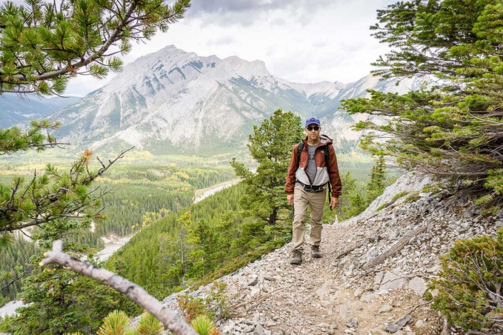 what to bring for hiking Wasootch Ridge trail in Kananaskis