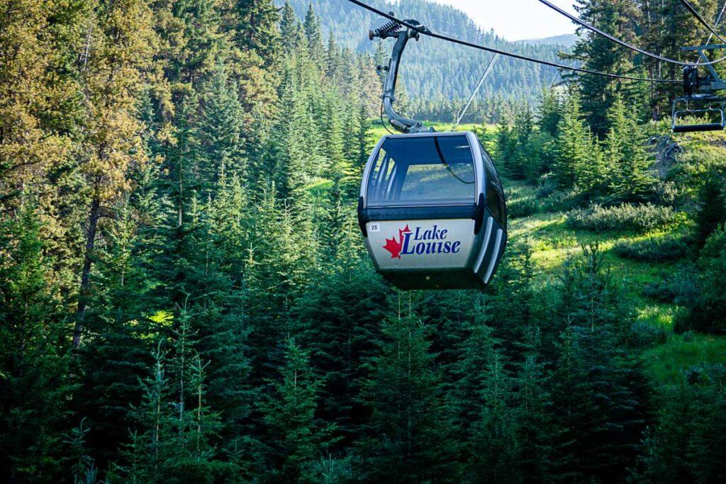 place to visit in Lake Louise Gondola