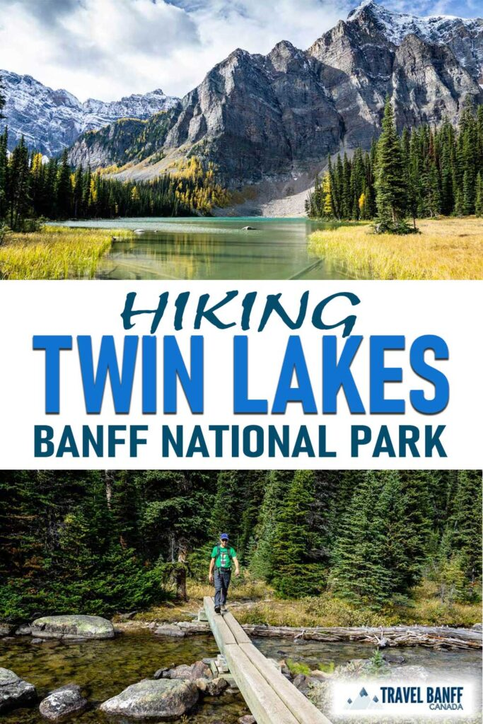 Twin Lakes hike in Banff, Canada