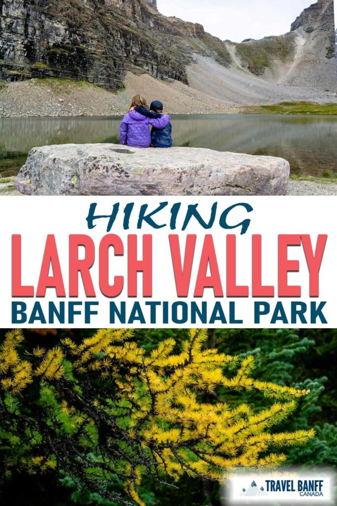 Larch Valley is the most popular hike for larches. In the fall, crowds flock to Moraine Lake to experience the spectacular beauty that is Larch Valley - full of golden larches.