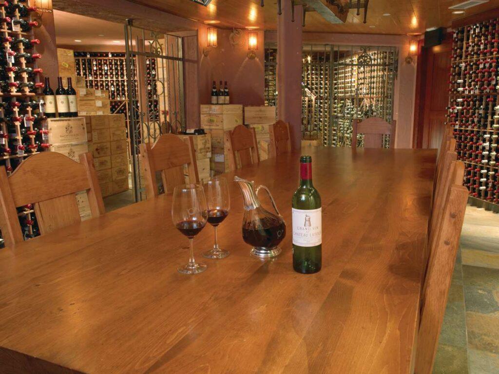 the post hotel lake louise - award winning wine cellar
