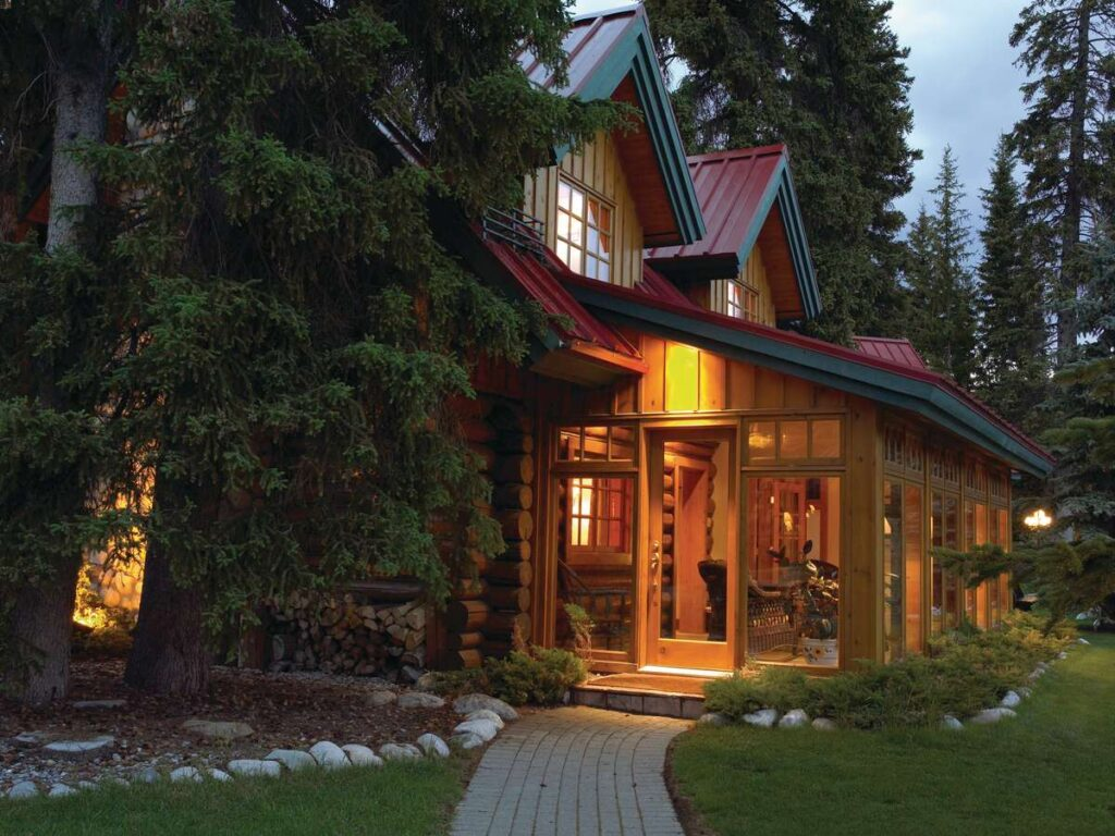 The Pipestone Cabin at the Post Hotel in Lake Louise