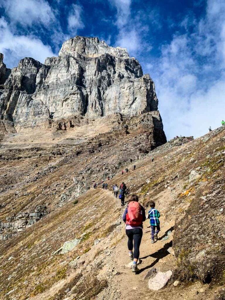 Hiking Sentinel Pass - Banff
