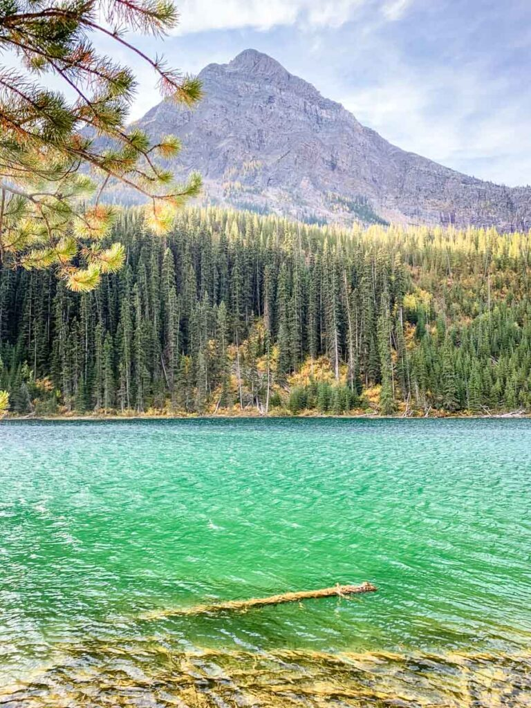 The easy hike to Vista Lake in Banff National Park, Canada