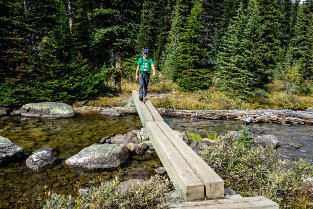 the Twin Lakes trail is a challenging Banff hike