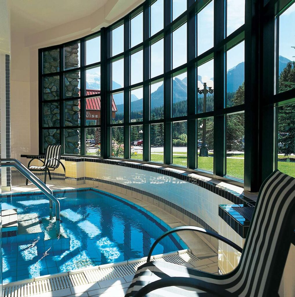 best hotels in Lake Louise with indoor swimming pools - Post Hotel