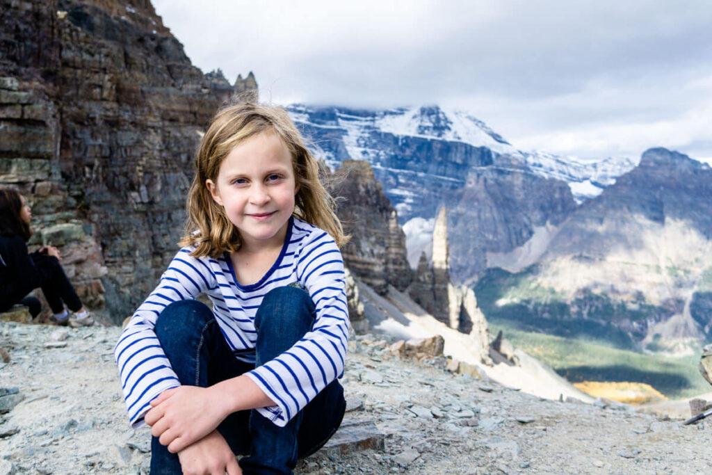 Hiking Sentinel Pass with Kids