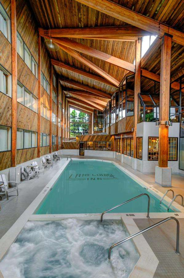 Lake Louise hotels with heated indoor pool