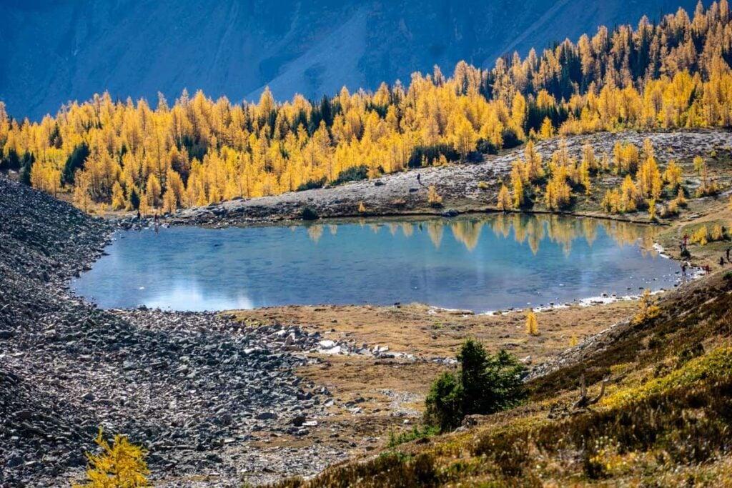 Minestimma Lake from Sentinel Pass Hike
