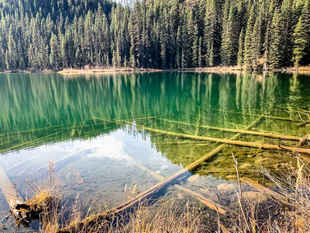 Smith Lake in Banff National Park