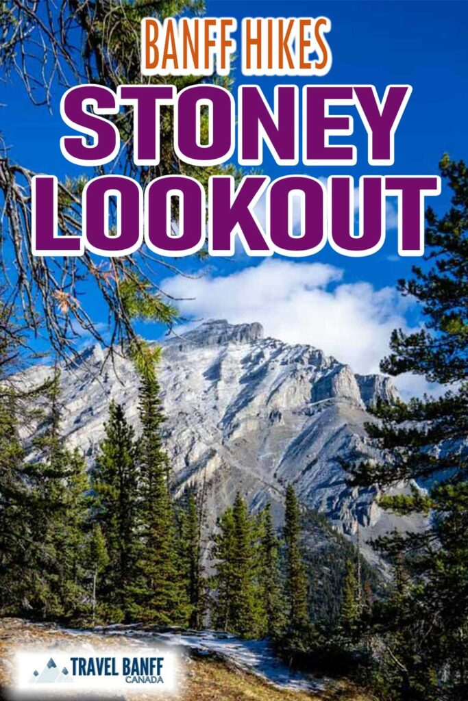 Stoney Looking Hike in Banff is an easy hike. This kid-friendly hike in Banff is a great opportunity to pair up a hike with a fun sightseeing opportunity on the Mt Norquay chairlift in the summer.