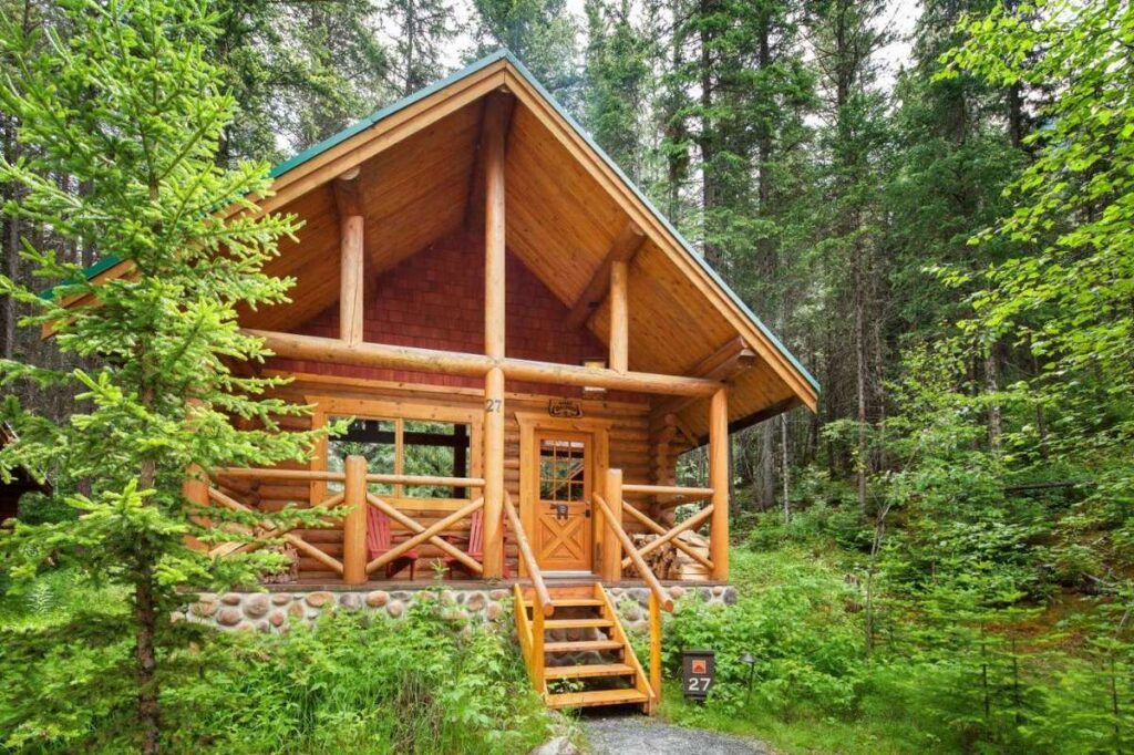 best places to stay near Lake Louise - cabins at Cathedral Mountain Lodge